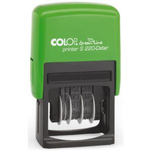 Stempel COLOP Green Line dato S220 4mm