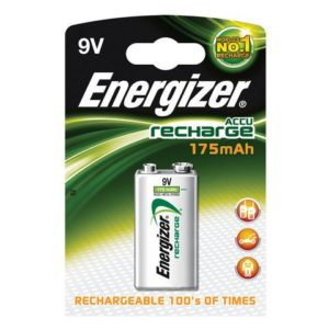 Batteri oppladbart ENERGIZER 9V 175