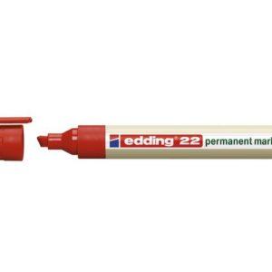 Merkepenn EDDING 22 rød