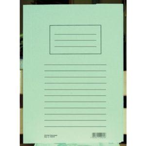Klaffmappe HEIMDAL A4 3 klaffer grønn
