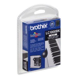 Blekk BROTHER LC1000BK sort