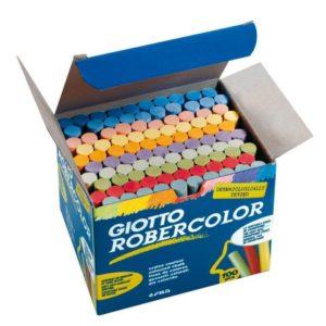 Tavlekritt Giotto ass farger (100)