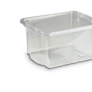Oppbevaringsboks 15l transparent