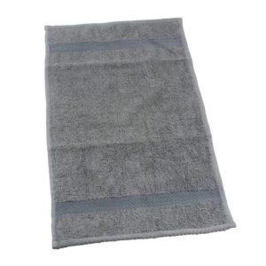 Frottéhåndkle 30x50cm grå
