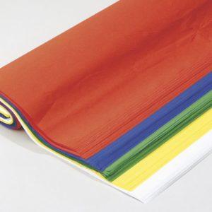 Silkepapir 5 ass farger (125)