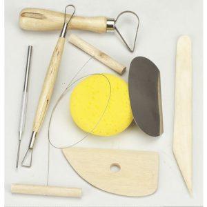Keramikkverktøy 8 deler