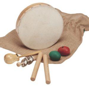 Rytmesett 5 instrumenter