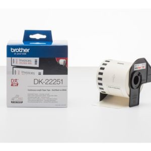 Etikett BROTHER DK-22251 62mmx15