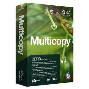 Kopipapir MULTICOPY Zero A4 80g (500)