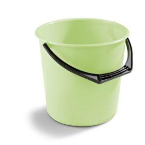 Bøtte plast 10L limegrønn