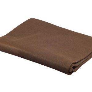 Dekorasjonsfilt 90x100cm brun