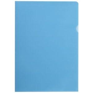 Plastomslag A4 PP 100my blå (100)