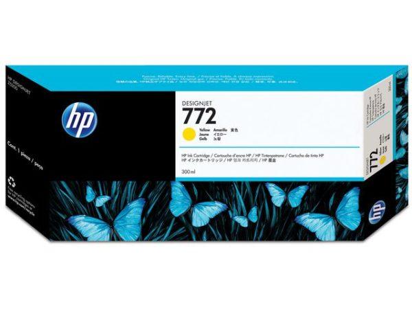 Blekk HP 772 CN630A 300ml gul
