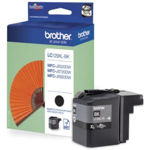 Blekk BROTHER LC129XLBK sort