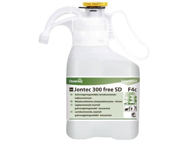 Rengjøring TASKI Jontec 300 free SD 1