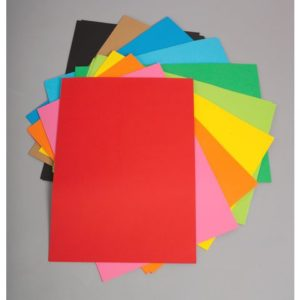 Papir farget A2 110g 25x10 farger