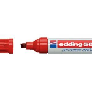 Merkepenn EDDING 500 rød