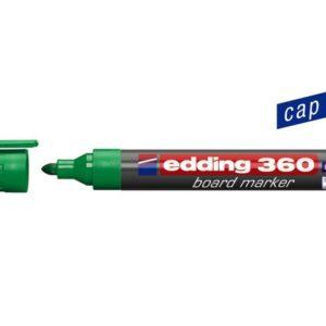 Whiteboardpenn EDDING 360 grønn