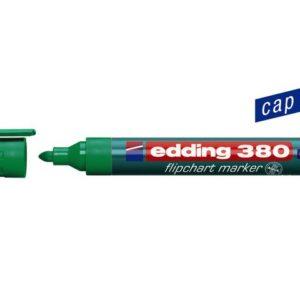 Flippoverpenn EDDING 380 grønn