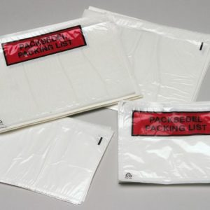 Pakkseddelpose C6 plast u/trykk (1000)