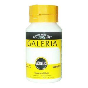 Akrylfarge Galeria 500ml hvit
