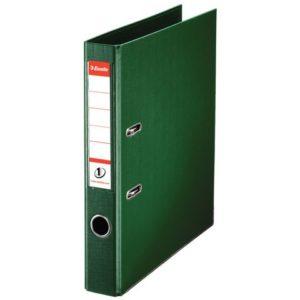 Smalordner ESSELTE No1 A4 50mm sk. grøn