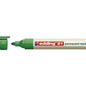 Merkepenn EDDING 21 EcoLine grønn
