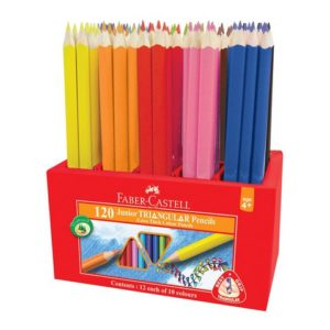 Fargeblyant FABER-CASTELL Triang. (120)