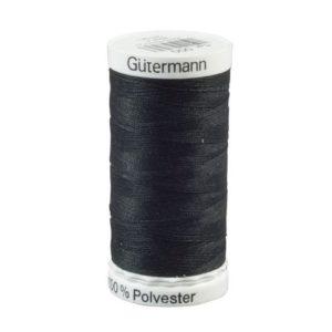 Sytråd 100% polyester 500m sort