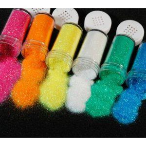 Glitter 20g neon 6 farger