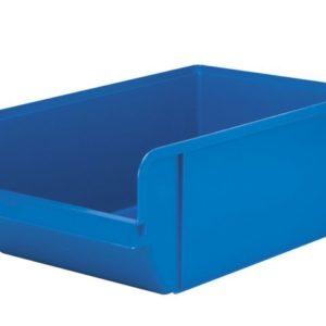 Plastkasse 20 liter blå