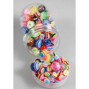 Perler kantede ass str og farger (150)
