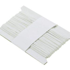 Halsbåndsnor hvit 50m
