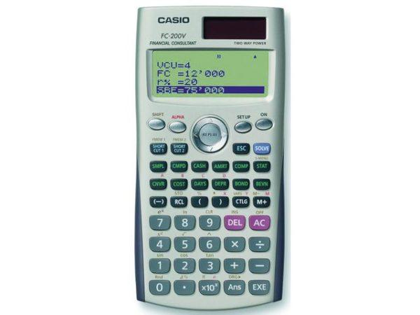 Kalkulator CASIO FC-200V