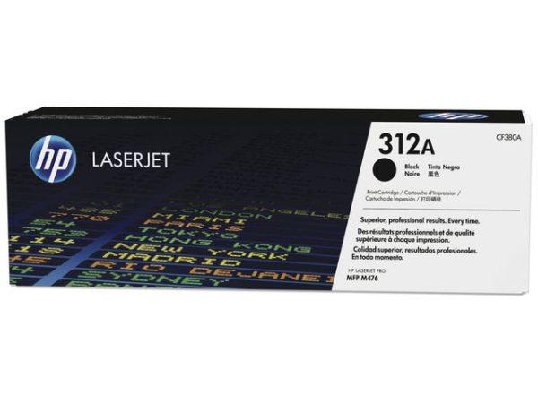 Toner HP CF380A 312A 2280 sort