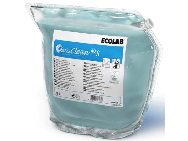 Glasspuss ECOLAB Oasis Clean 40 S 2L
