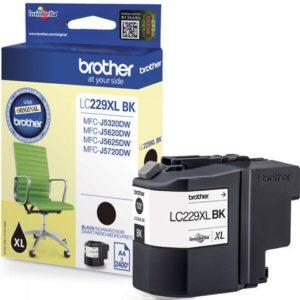 Blekk BROTHER LC229XLBK HC sort