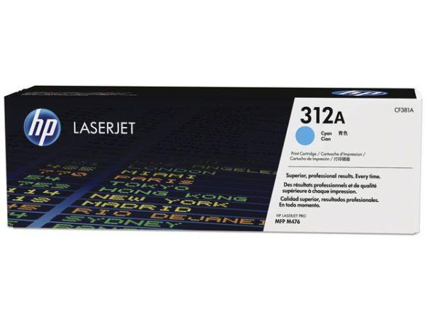 Toner HP CF381A 312A blå