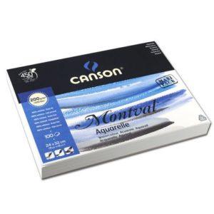 Akvarellpapir CANSON 200g 24x32cm (100)