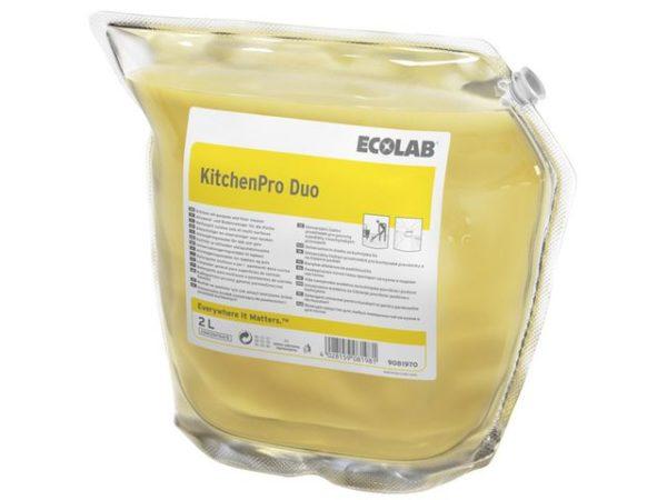 Rengjøring ECOLAB KitchenPro Duo