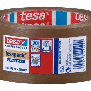 Emballasjetape TESA PVC 50mmx66m brun