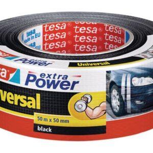 Lerretstape TESA 50mmx50m sort (6)