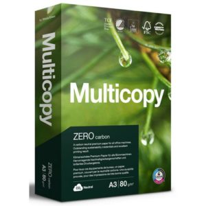 Kopipapir MULTICOPY Zero A3 80g (500)