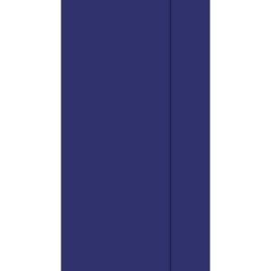 Dispenserserviett DUNI 1L33cm m blå(750