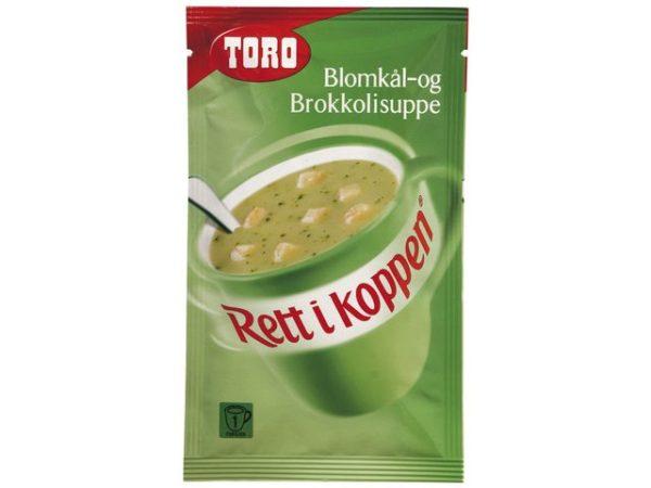 Blomkål/ Brokkolisuppe TORO RIK (12)