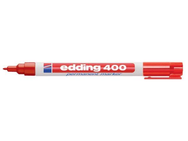 Merkepenn EDDING 400 rød