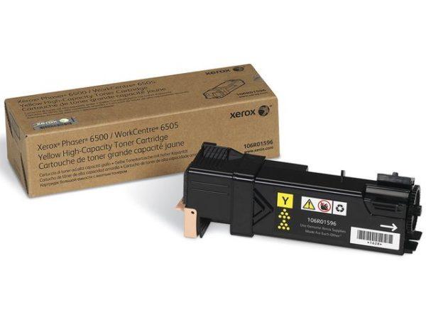 Toner XEROX Phaser 106R01596 gul