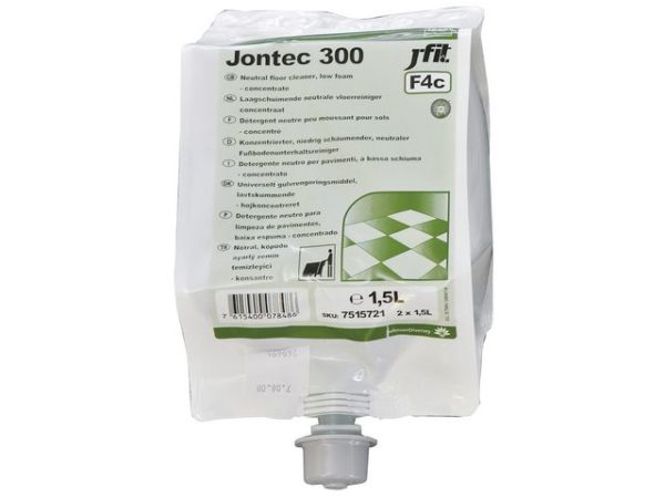 Rengjøring TASKI Jontec 300 Free ID 1