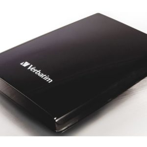 """Harddisk VERBATIM 2.5"""" USB3 500GB sort"""