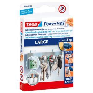Opphengstrips TESA tosidig large hv (10)